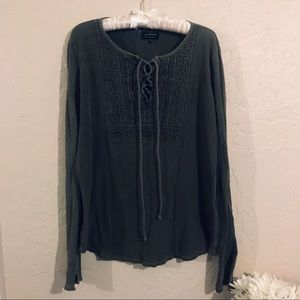 Lucky brand thermal long sleeve top size XL